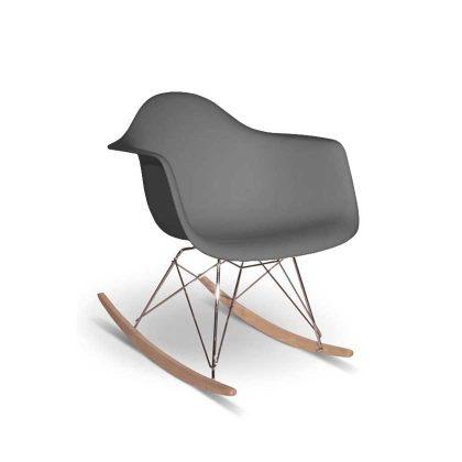 Cadeira de Baloiço | Preta | Cinza Escuro | E.CAD-4