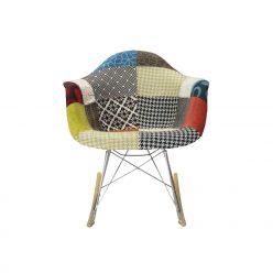 Cadeira de Baloiço | Patchwork | Ícone | Frente | E.CAD-14