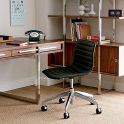Cadeira de escritório | Elegante | Lateral Esquerda | O.CAD-1