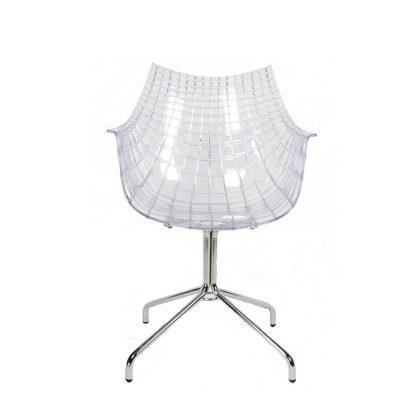 Cadeira | Transparente | Original | Frente | E.CAD-19