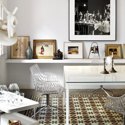 Cadeira | Transparente | Original | Cozinha | E.CAD-19