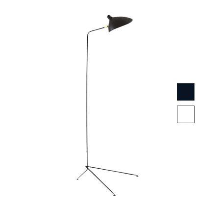 Candeeiros | Candeeiro de Pé | Iluminação | 1 Lâmpada | Base em Tripé | Preto | IC-CND-9 | Iluti