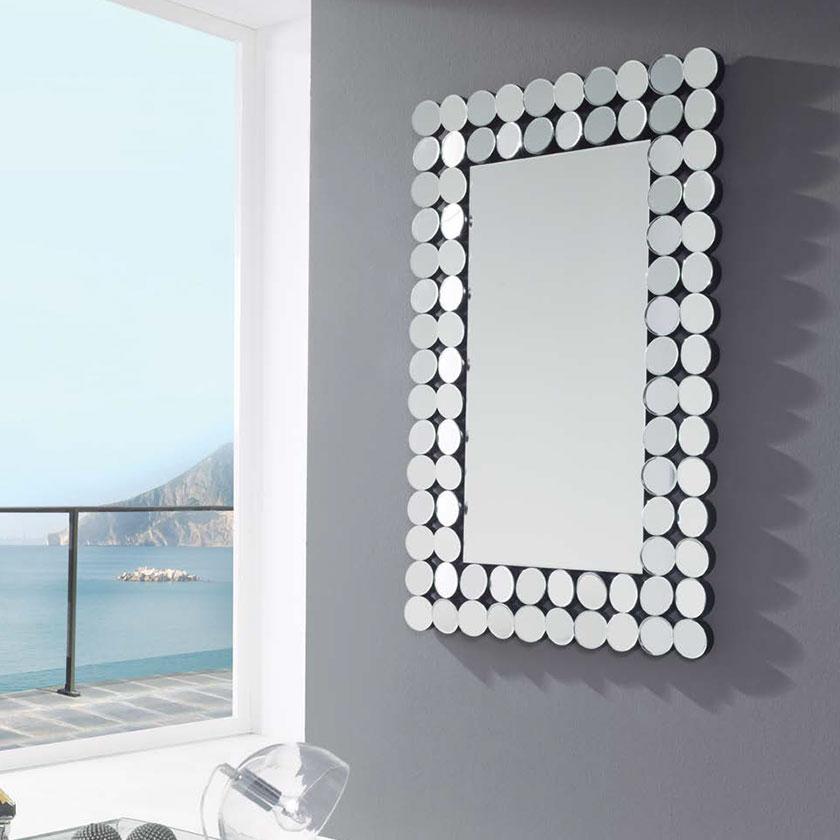 Espelho de parede retangular original d esp 4 iluti for Espejos originales recibidor