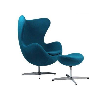 Cadeirão | Banqueta | Design Original | Azul | E.CDO-28