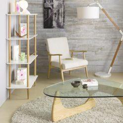 Estante | Design Nórdico | Escritório | Sala de Estar | Lateral | E.EST-3