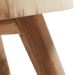 Mesa de Centro | Mesas De Centro Modernas | Madeira Mungur | Pernas | E.MSA-29