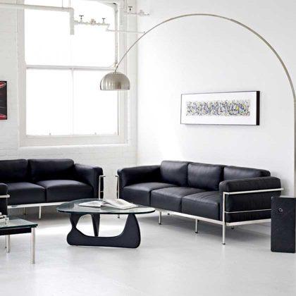Mesa De Centro Sala De Estar | Mesas De Centro Design Inovador | Preta | Ambiente | E.MSA-21