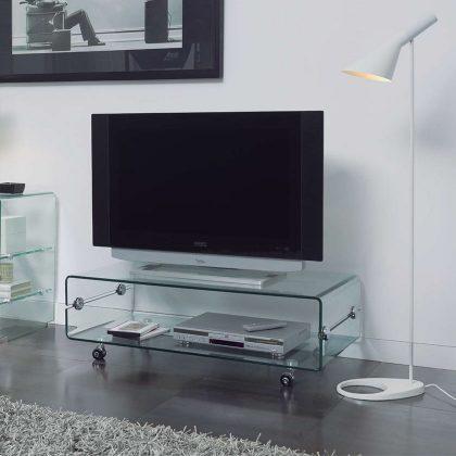 Móvel De TV | Vidro | Móveis De TV Elegantes | E.MTV - 1