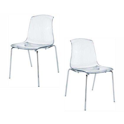 Cadeira De Jantar   Cadeiras Com Design Moderno   Conjunto de 2   J.CDA-31