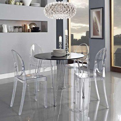 Cadeira De Jantar   Design   Conjunto de Duas   Ambiente   J.CDA-19