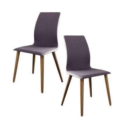 Cadeira De Jantar   Sala De Jantar   Estilo Escandinavo   Conjunto 2   Canto   J.CDA-22