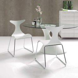 Cadeira De Jantar | Sala De Jantar | Linha Orgânicas | Conjunto 2 | Ambiente | J.CDA-17