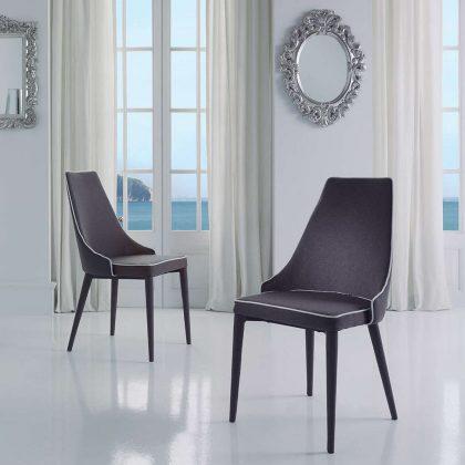 Cadeira Para Sala De Jantar   Estilo Contemporâneo   Conjunto 2   Ambiente   J.CDA-26