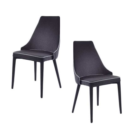 Cadeira Para Sala De Jantar   Estilo Contemporâneo   Conjunto 2   Canto   J.CDA-26
