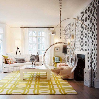 Cadeirão | Clássico de Design | Sala de Estar | Ambiente | E.CDO-21