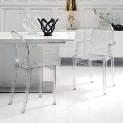 Cadeiras De Jantar | Mesas De Jantar | Design | Conjunto 2 | Com Braços | Ambiente | J.CDA-18