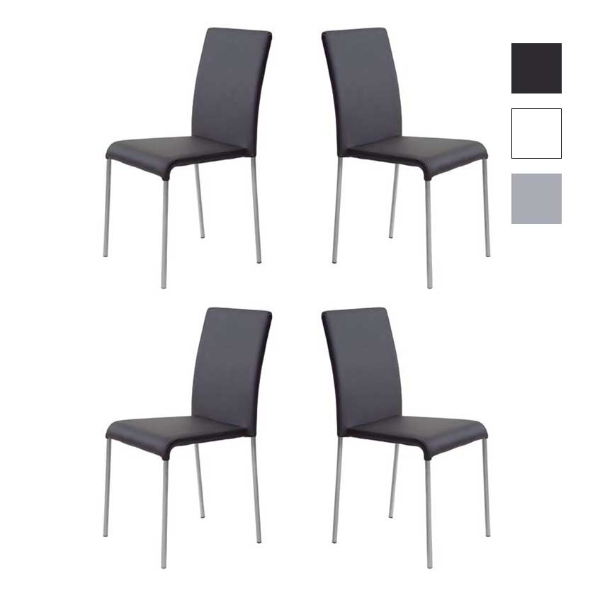 cadeiras design intemporal conjunto 4 j cda 3p iluti. Black Bedroom Furniture Sets. Home Design Ideas