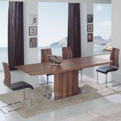 Mesas de Jantar | Extensível | Mesa De Jantar Moderna | Aberta | J.MSA - 4