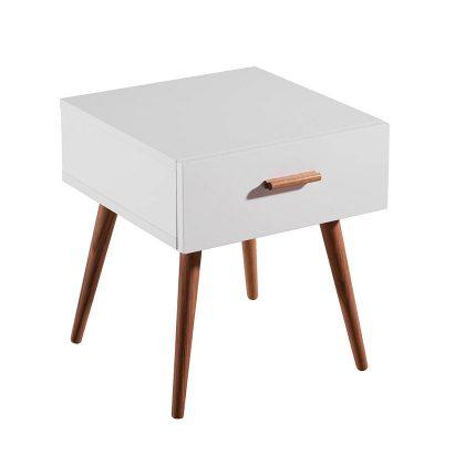 Mesa de Cabeceira | Inspiração Escandinava |Q.MSA-21