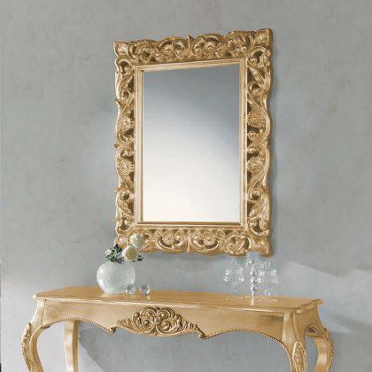 Espelho Decorativo | Barroco | Dourado | D.ESP-23
