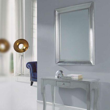 Espelho | Moldura Prateada | D.ESP-26